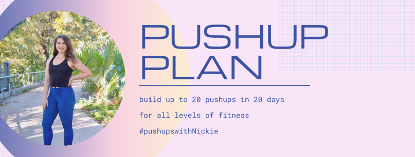 Blue and Pink Shapes Neon Noir Fitness Influencer Facebook Cover
